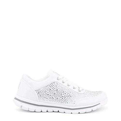 And 89345 Donna Sneakers Laura Silver White Biagiotti xtqzw1X