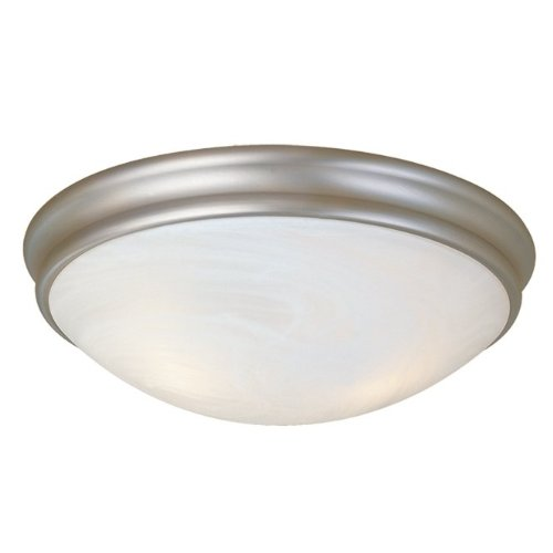 Millennium Lighting 5133-SN 2-Light Flush Mount in (Millennium 2 Light Pendant)
