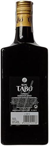 Tabú Ron añejo dominicano (formula mejorada) - 700 ml: Amazon ...