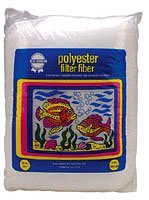 Blue Ribbon Pet Products ABLPLY14 Polyester Floss Bag Filter Media, 14-Ounce by Blue Ribbon (Blue Ribbon Polyester Floss)