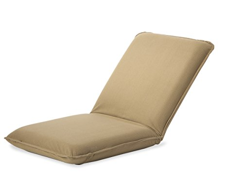 Plow hearth multiangle folding chair pad with adjustable for Floor couch amazon