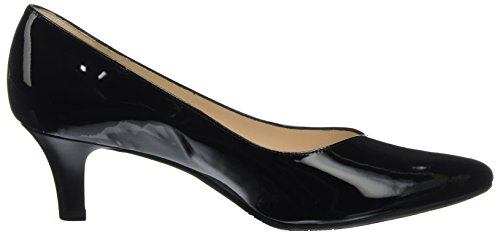 Lack Heather schwarz Negro Mujer De Con Kaiser Para Punta Peter 010 Zapatos Tacón Cerrada 7Z5U5qw