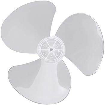 Amazon Com Chictry 12 Inch Fan Blade 3 Leaves Plastic Fan