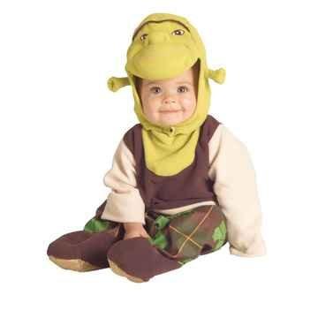 [Shrek Costume - Infant] (Shrek Costume For Toddler)