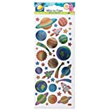 METALLIC STICKERS - OUTER SPACE. CPT 8181117