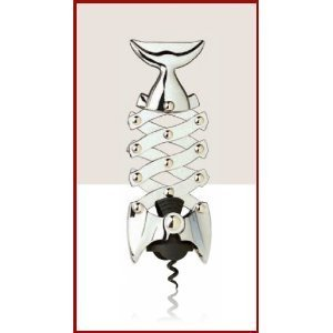Pisces Fish Multi-Lever Corkscrew by Home Bar Source