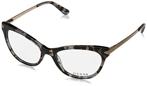 Guess GU2683 Eyeglass Frames - Grey Frame, 52 mm Lens Diameter GU268352020