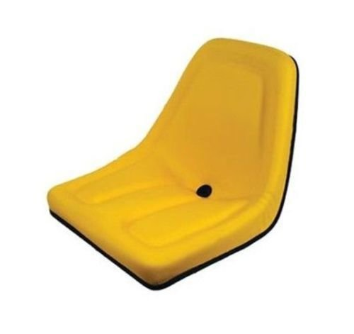 One (1) Yellow Michigan Seat For John Deere Gator Lawn Tractors by Stevens Lake