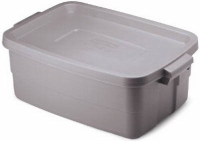 Rubbermaid Inc 10Gal Roughneck Tote (Pack Of 8) 2214 Tp Containers Closet  Storage