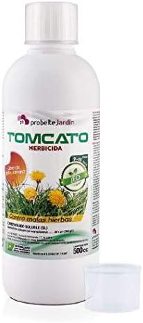 Herbicida Total Tomcato 500 cc JED (Glifosato 36%)