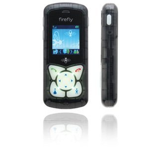Kids For Phone Cell Firefly - Firefly Mobile glowPhone - Black