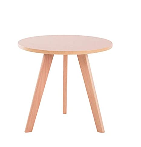 Admirable Aoeiuv Round Sofa Side Table Nordic Wood Triangle Frame Ncnpc Chair Design For Home Ncnpcorg