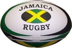 Club Pro Size 5 International Rugby Ball - Jamaica