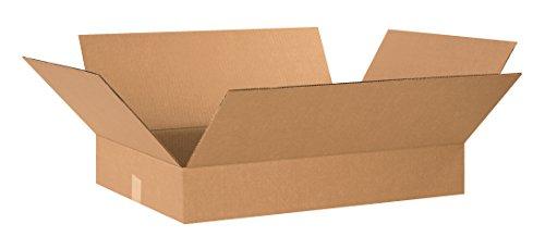Aviditi 24184 Flat Corrugated Box - 24