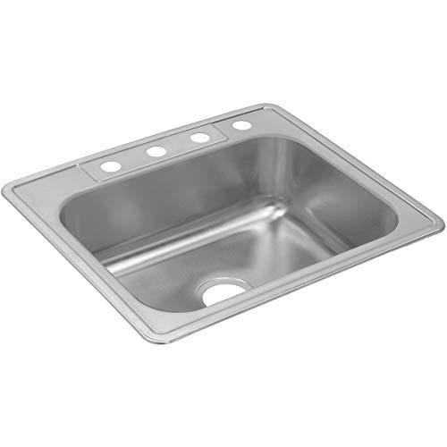 Dayton DXR25223 Single Bowl Drop-in Stainless Steel Sink