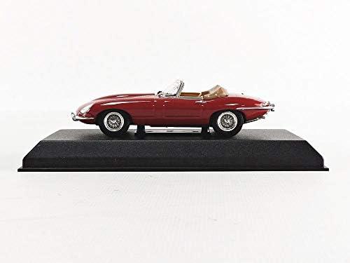 OVP Jaguar E-Type Cabrio 1961 rot 1:43 Norev 270062 neu