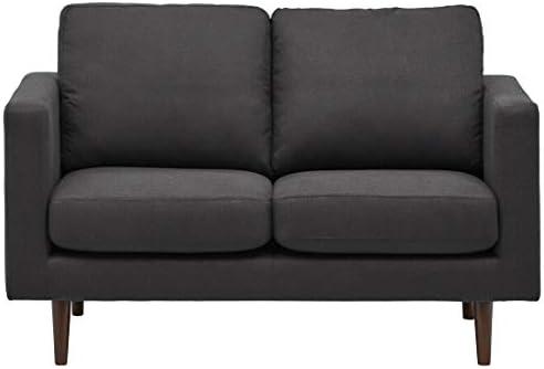 Deal of the week: Amazon Brand Rivet Revolve Modern Upholstered Loveseat Sofa