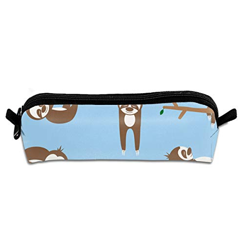 - SFDHFGH LonperLope Lazy Sloths Canvas Pencil Bag Pen Cases Bag Student Adult Office School Supplies Cosmetic