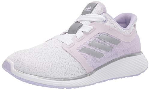adidas Women's Edge Lux 3  White/Purple Tint/Dash Grey 11.5