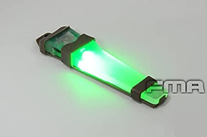 Luz estroboscópica LED VLA V-Lite E-LITE de seguridad con velcro