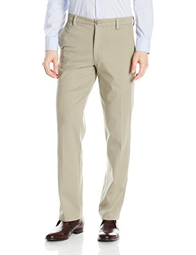 Dockers Men's Straight Fit Easy Khaki Pants D2, Cloud, 34 30