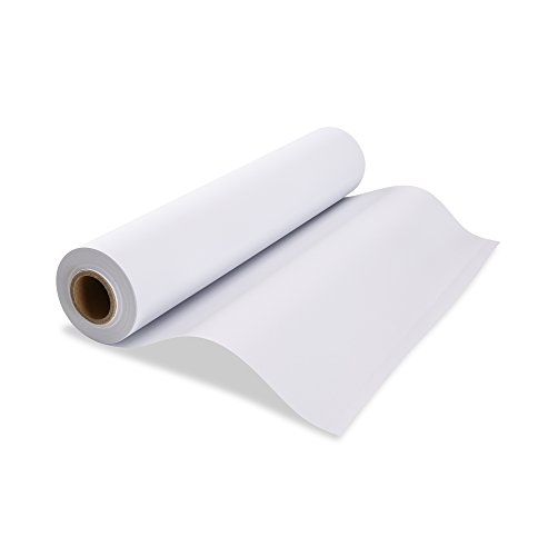 "Melissa /& Doug Easel Paper Roll 12""x 75' Premium Heavy Weight White Bond Paper"
