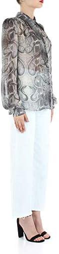 Richmond Luxury Fashion Donna RWP20217GREY Grigio Viscosa Camicia   Primavera-Estate 20