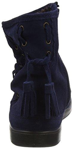 Femme Bleu Hotter 030 Navy Pixie Indiennes Bottes Blue nw4tFx4