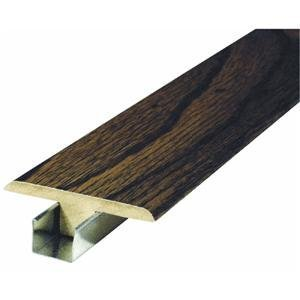 Zamma Corp. 04324116 T-Molding For RightStep Laminate Flooring - Laminate Flooring Molding