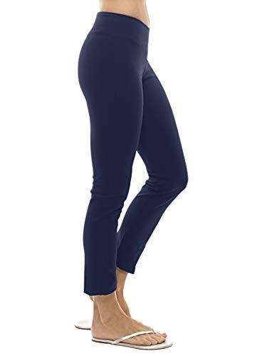 (Blue Canoe Organic Cotton & Spandex Ankle Skinny Pant Navy Blue)