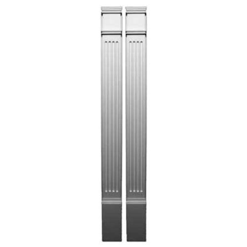 "Fypon PIL7X90 7""W x 90""H x 2 1/2""P Fluted Pilaster, Mould..."