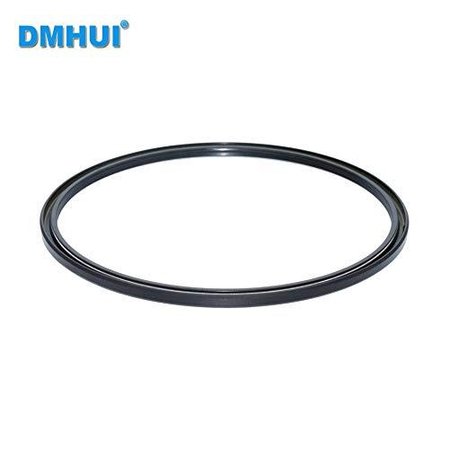 DMHUI Brand hydraulic pump oil seal TCV type NBR rubber 150-164-5 /150x164x5 ISO 9001:2008 150-164-5 mm/150x164x5mm
