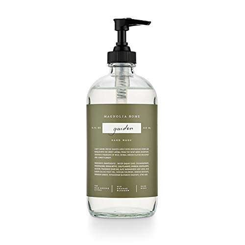 Magnolia Home Fragrance Garden Scent 15 Ounce Large Cleansing Hand Wash Soap ()