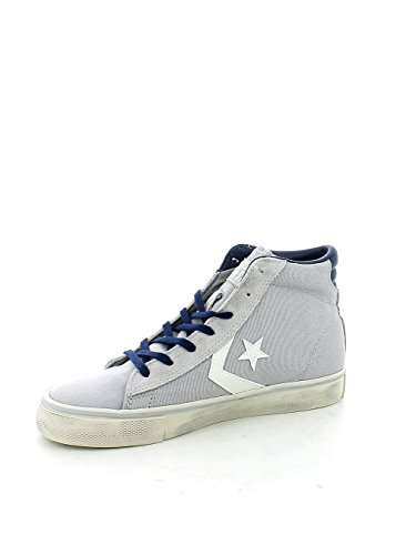 CONVERSE Pro Leather Vulk Distressed Hi sneakers TESSUTO GREY GRIGIO 156799C