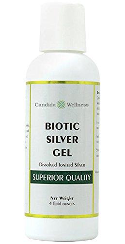 Biotic Silver Topical Gel Topical Antifungal Antibiotic Gel (4oz)