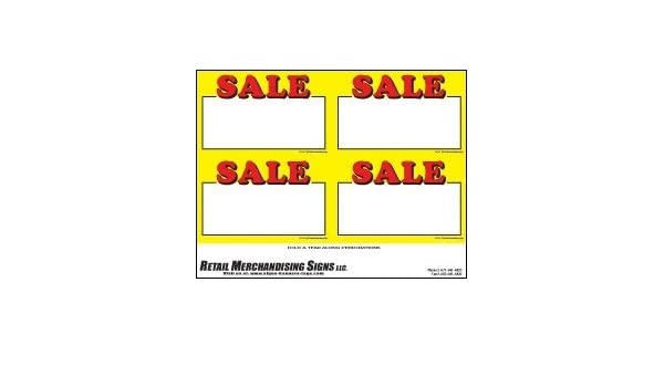 picture regarding Retail Sale Signs Printable referred to as : YZC201 Selling price Indicator Laser Playing cards Sale Computer Printable