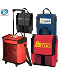Ice 30 Can Roller Cooler 10 QUANTITY 29 25 EACH PROMOTIONAL PRODUCT BULK BRANDED With YOUR LOGO CUSTOMIZED