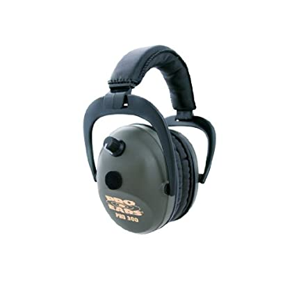 Image of Earmuffs Pro Ears - Pro 300 - Electronic Hearing Protection and Amplification - NRR 26 - Ear Muffs