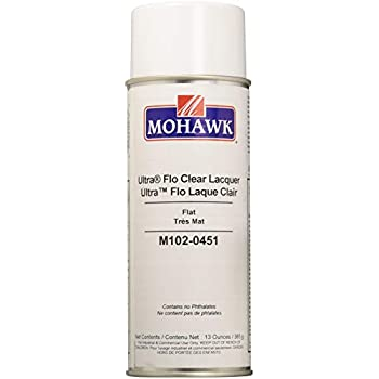 Mohawk Finishing Products Finisher's Choice Clear Nitrocellulose Lacquer -  Flat
