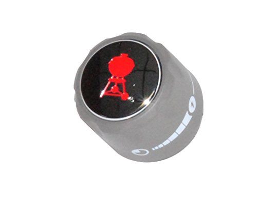 Weber Summit Series Gas Grill Infrared Red Burner Gas Control Knob 70378