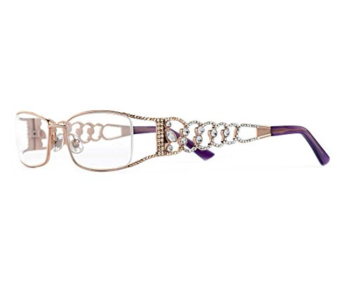Principessa Crystal - Jimmy Crystal PRINCIPESSA Reading Glasses JCR287, 1.5 Magnification