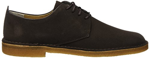Scarpe London Clarks Originals Brown Stringate Suede Marrone dark Basse Uomo Desert Derby qOftfW7Ua