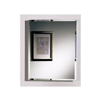 jensen horizon frameless singledoor recessed medicine cabinet