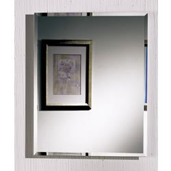Jensen 1451 Horizon Frameless Single-Door Recessed Medicine Cabinet