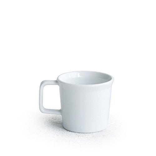 【아리타산 도자기/자기】arita japan TY에스프레소 컵w.핸들(화이트)