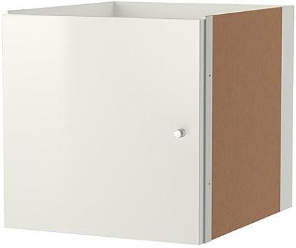 IKEA KALLAX con puerta en color blanco brillante; (33 x 33 cm); Compatible con EXPEDIT