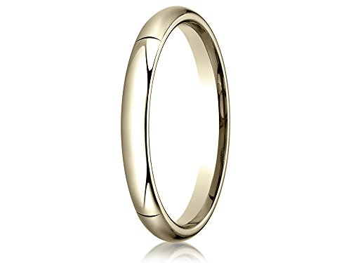 14k Gold 3.0mm High Dome Heavy Comfort-fit Ring Size 5.5 by Finejewelers