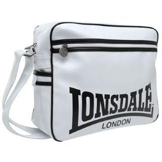Lonsdale Core Flight Bag White Black -  Amazon.co.uk  Clothing 59cc28c849582