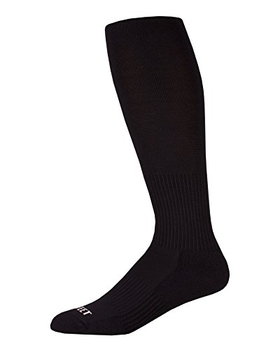 (Pro Feet Performance Multi-Sport Over-The-Calf Athletic Socks, Large, Black)