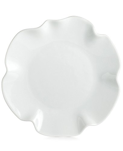The Cellar Whiteware 14-inch White Ruffle Platter